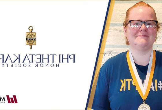 The 威斯康星 region of Phi Theta Kappa (PTK) Honor Society has selected Mid-State Technical College Business Management student Emily Tauschek as its new president. In her role, Tauschek will work with the regional officer team and regional coordinator to plan events across the state and promote chapter engagement throughout the 2020–21 academic year.